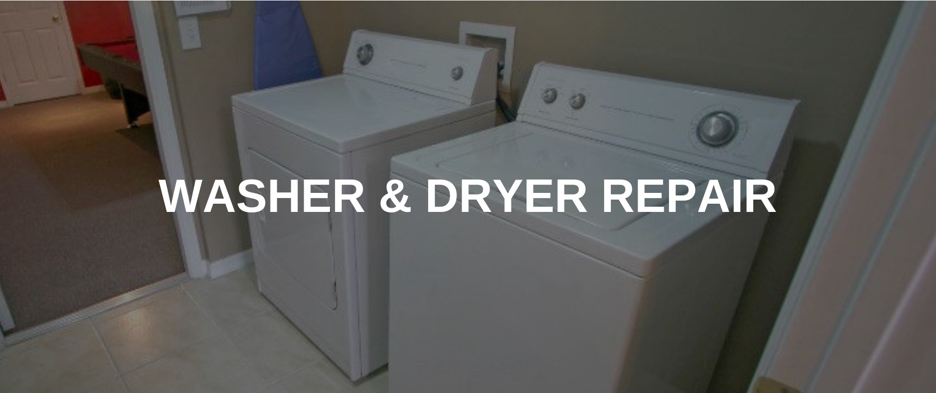 washing machine repair meriden